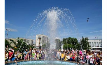 "Фонтан ""Желаний"" в Бердске был открыт 1 июня 2015 года"