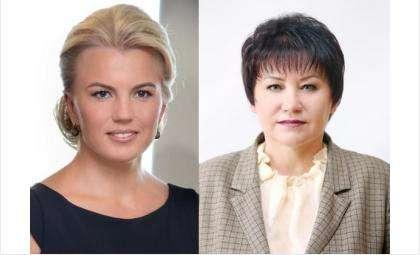 Ирина Диденко (слева) и Зоя Родина (справа) - действующие депутаты ЗС