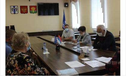 Депутат Заксобрания НСО Александр Барсуков провел личный прием жителей Коченёво