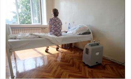 В госпитале одновременно находятся до 62 пациентов