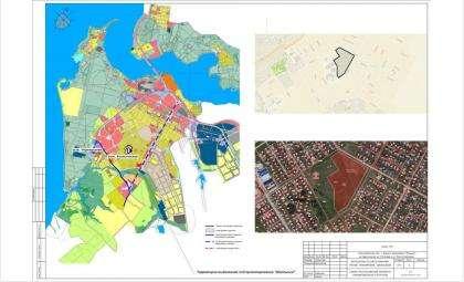 Проект планировки Южного микрорайона