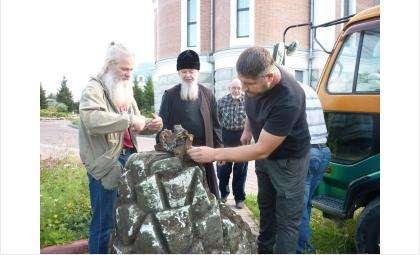 Уникальная археологическая экспедиция в Бердске – со дна Обского моря поднято надгробье Ларионова
