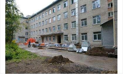 Проект по капитальному ремонту здания терапевтического корпуса предусматривает 56 коек