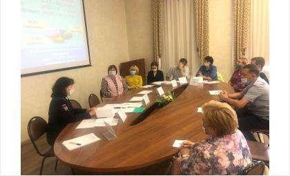 Заседание комиссии по делам несовершеннолетних в Бердске