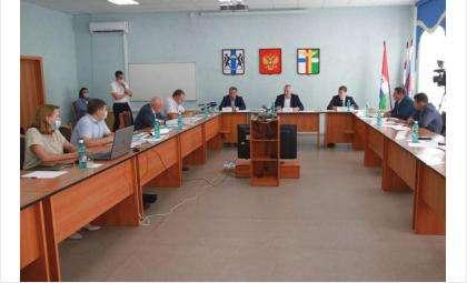 Во время совещания был представлен план неотложных первоочередных мероприятий