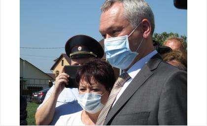 Андрей Травников пообщался с активистами