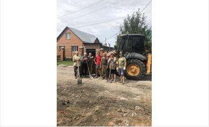 ТОС «Аэродромная» выиграл грант мэрии Бердска на 102 тыс. рублей на ремонт своей улицы