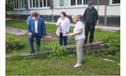 Мэр Бердска проинспектировал школу №8