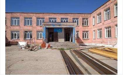 Работы по реконструкции старой школы завершатся уже 25 августа