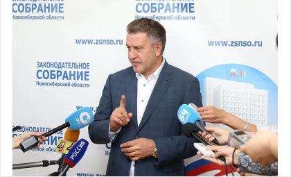 Андрей Шимкив высказал благодарность новосибирцам и жителям области
