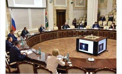 Состоялось заседании комиссии при Правительстве области по обеспечению безопасности дорожного движения