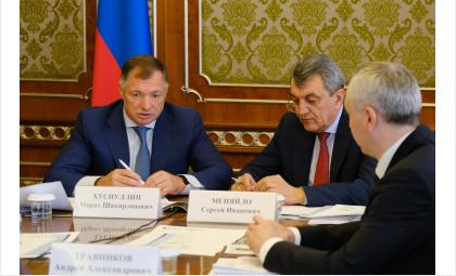 Заместитель председателя Правительства России Марат Хуснуллин провёл в Правительстве региона совещание