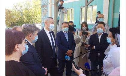 С рабочей поездкой в Бердске побывал губернатор Андрей Травников