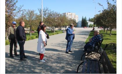 Встреча с мастерами художественной ковки прошла в парке