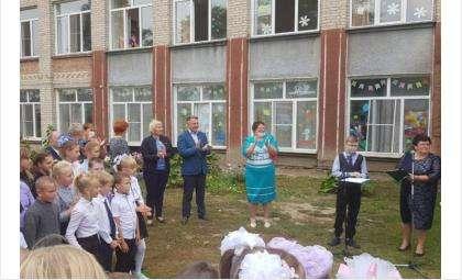 1 сентября в школе в селе Битки Сузунского района