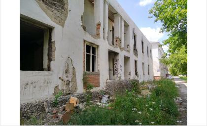 Дом давно расселён