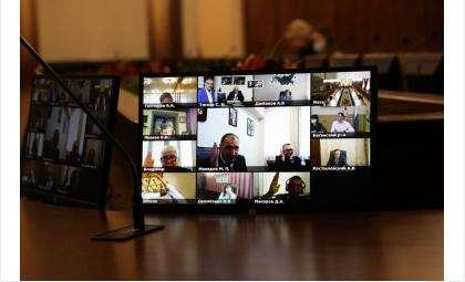 Обсуждение вопроса в режиме видеоконференции позволило услышать позиции территорий