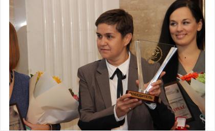 Ольга Костылева с заслуженной нагрдой