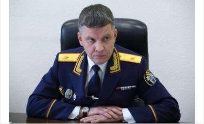Руководитель СУ СКР по НСО Андрей Лелеко