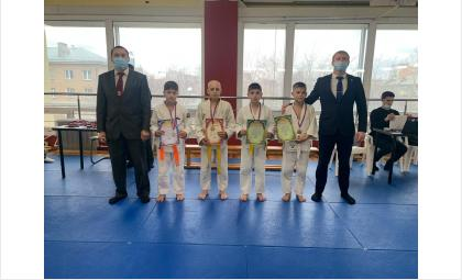 Дзюдоисты Бердска заняли пьедестал почета в турнире «Открытый ковер» в Новосибирске