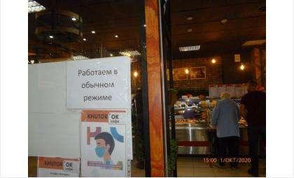 Соблюдение эпидрежима проверили в кафе «Хуторок» и «Ромашка», магазине «На Химзаводской» в Бердске