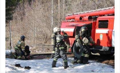 Число пожаров уменьшилось по сравнению с прошлым годом