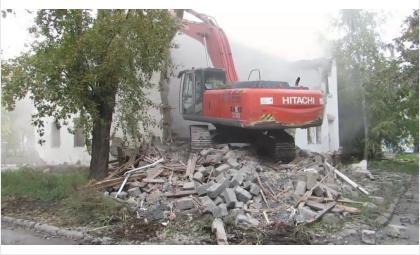 Расселённые дома пойдут под снос