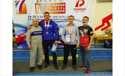 Золото и бронзу Всероссийского турнира по панкратиону получили бойцы из Бердска