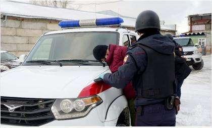 С задержанными разбирается полиция