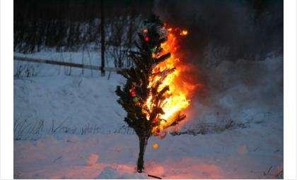 Во время новогодних праздников не забывайте о правилах техники безопасности