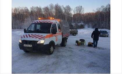 Передвижные пункты обогрева дежурят на трассах области в сильные морозы