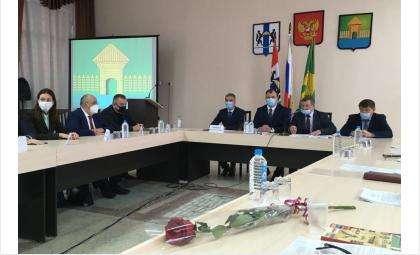 Во время заседания обсуждались перспективы развития Мошковского района