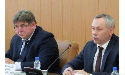 Евгений Шестернин (слева) и Андрей Травников (справа)