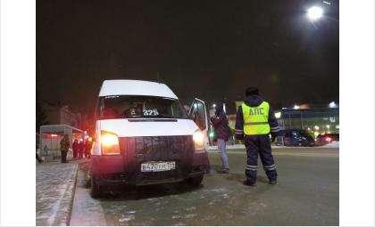 В рейде участвовали сотрудники ГИБДД и полиции