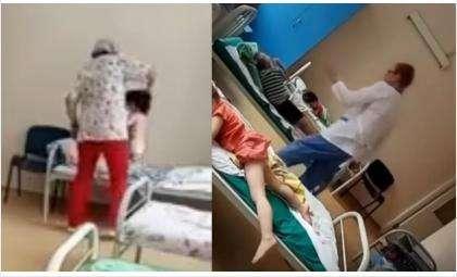 Действия медсестёр попали на видео