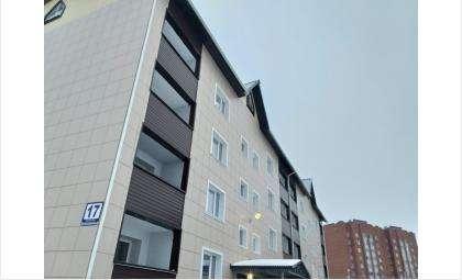 В доме №17 в Белокаменном в Бердске живут переселенцы