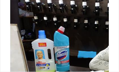Бытовые средства дезинфекции и санобработки не пригодны для магазинов