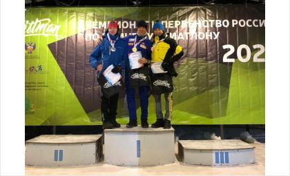 Бердчанин Александр Гашников получил «золото» первенства России по триатлону среди любителей