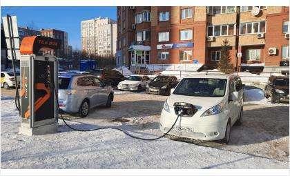 Станции зарядки электромобилей есть в Новосибирске, Бердске, Искитиме