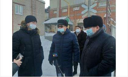 Глава минсельхоза Евгений Лещенко в Бердске