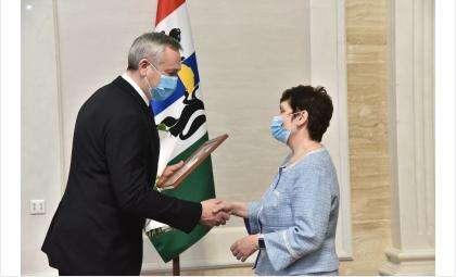 Губернатор поздравил новосибирцев со стартом Года науки и технологий