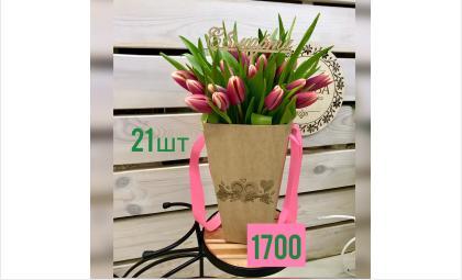 Принимаем заказы на стильные композиции и букеты из тюльпанов!