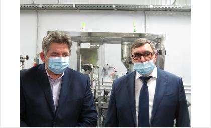 Евгений Шестернин и Евгений Лещенко осмотрели три бердских предприятия