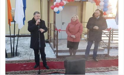 Андрей Шимкив на праздничном открытии