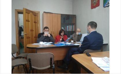 Заседание комитета горсовета Бердска
