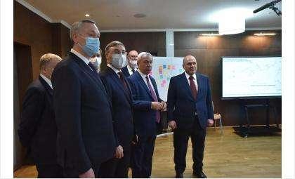 Рабочий визит Председателя Правительства в Новосибирскую область