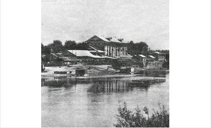Сохранились лишь редкие фото знаменитой Гороховской мельницы