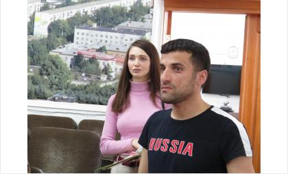 Елена Цыбина и Муса Шарифов