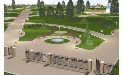 Вокруг парка также появится забор