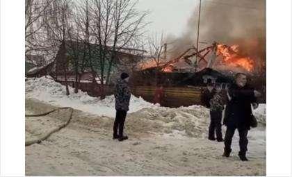 Пожар случился 22 марта
